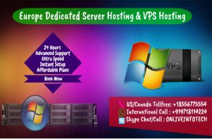 Europe Dedicated Server hosting and VPS Server hosting plans