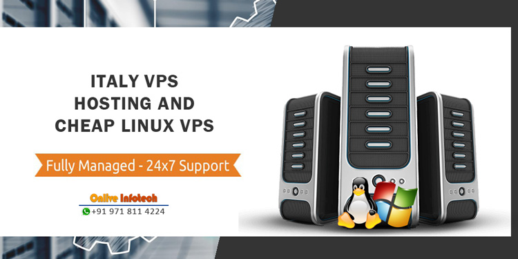 Fully Customizable & Scalable Italy VPS Hosting Server For Your Website