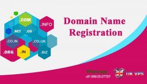 Domain Registration - UK VPS