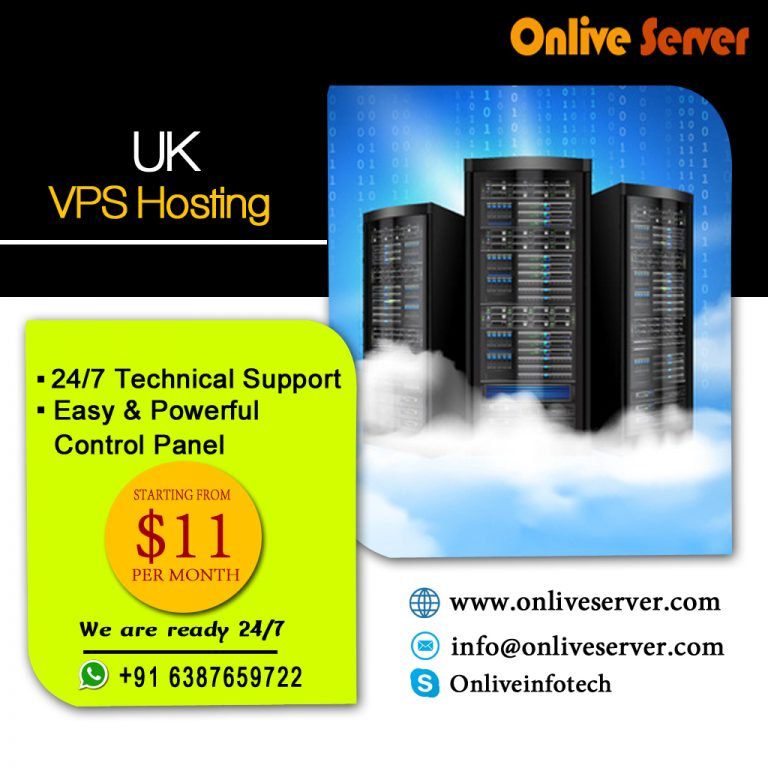 Get Multiple Type of Operating System with UK VPS Server